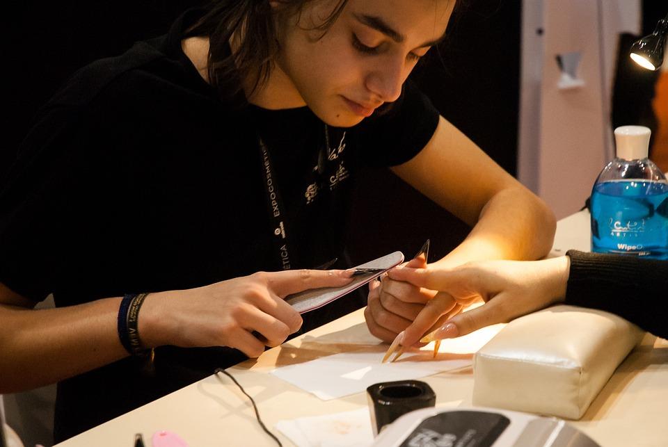 Expocosmética, Gel Nails, Young, Presentation, Model