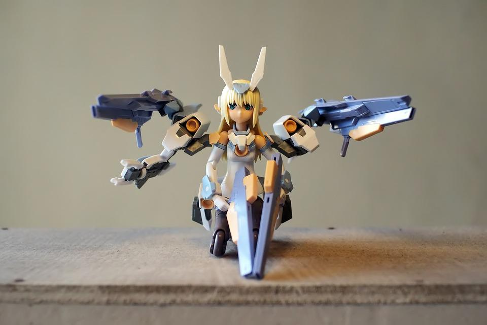 Toy, Figurine, Model, Kit, Young, Lady, Female