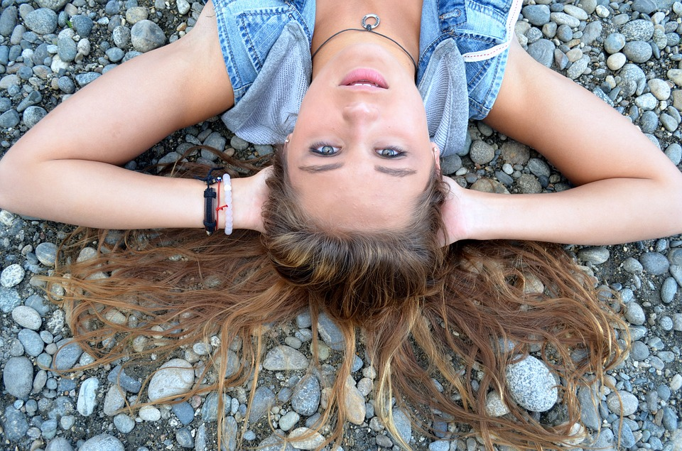 Teen, Girl, Rocks, Female, Young, Hip, Lifestyle