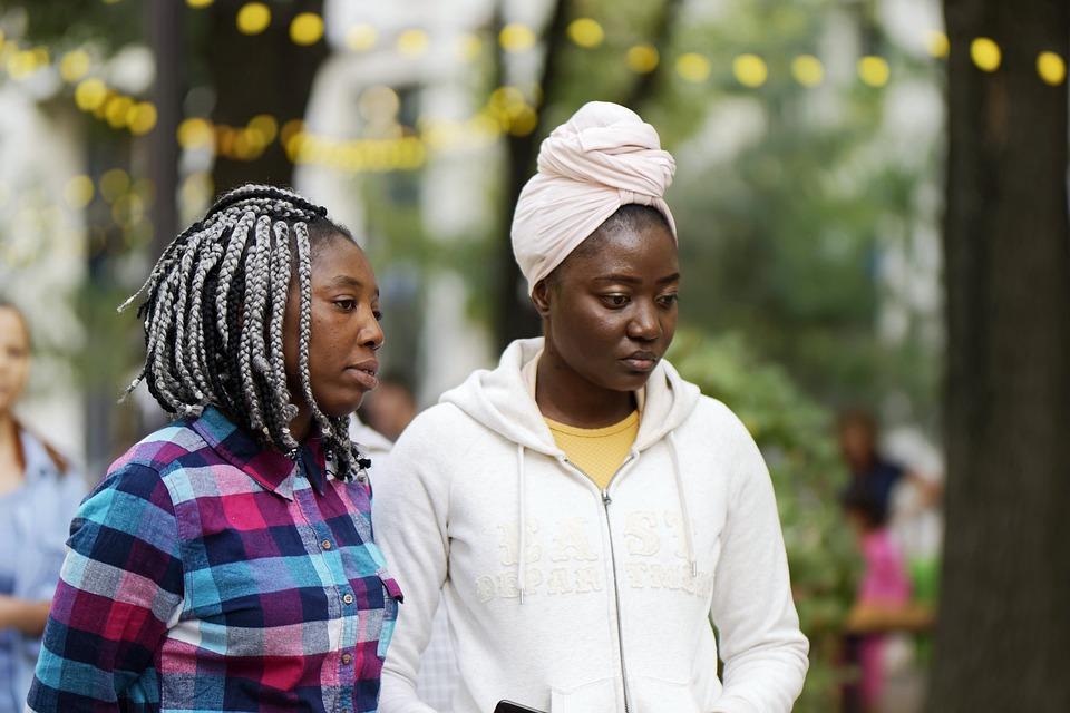 Women, People, Young People, Adult, Ebony, Africa