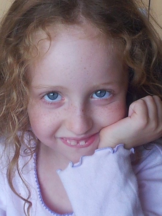 Blue Eyes, Girl, Young, Eyes, Smile, Cute, People