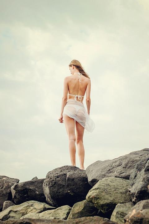 Summer, Girl, Young Woman, Holiday, Bikini, Woman