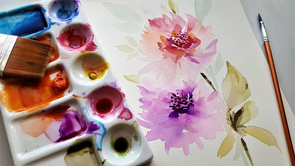 Painting, Art, Colors, Watercolor, Your Watercolor