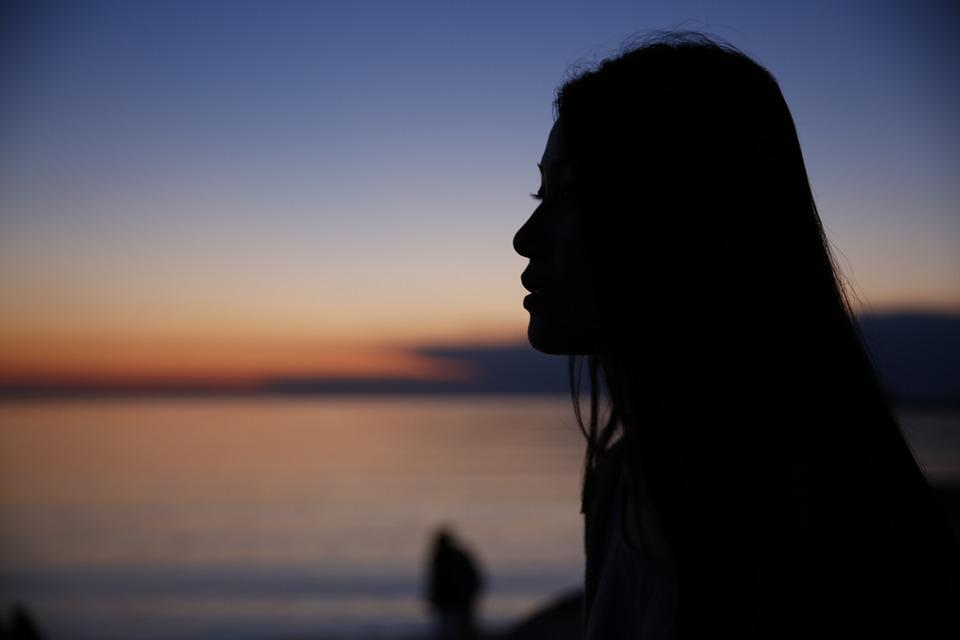 Portrait, Silhouette, Youth, For Men And Women