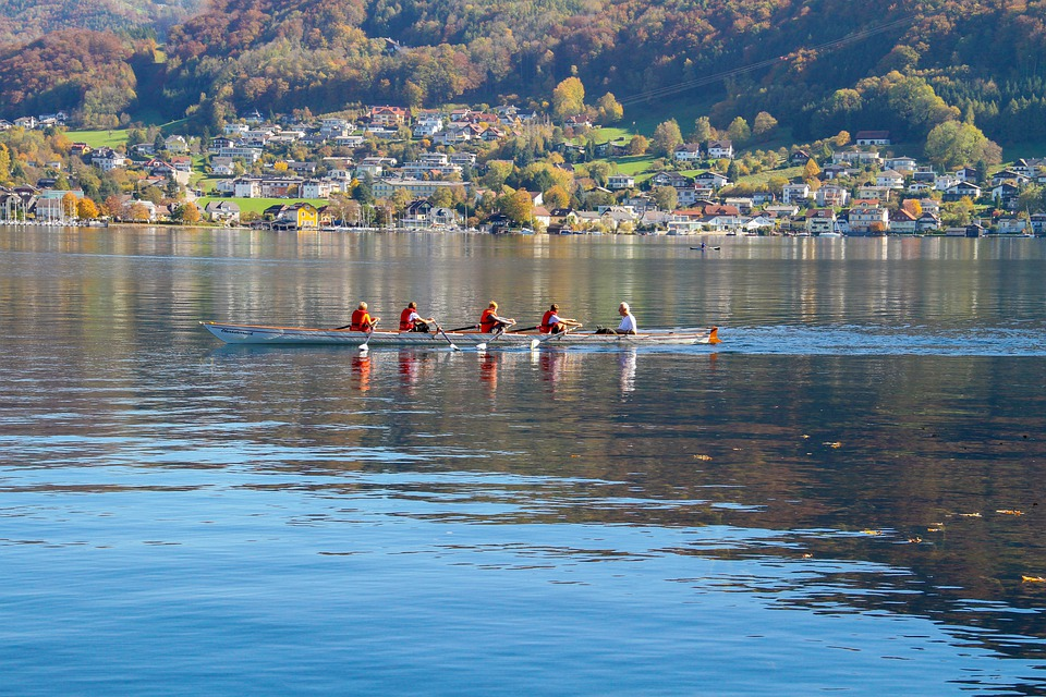 Rowing, Sport, Training, Nature, Youth, Boat, Kayak
