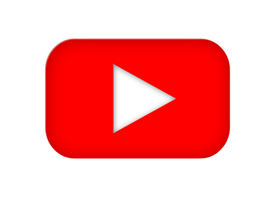 Youtube, Logo, Media, Multimedia, Video, Play