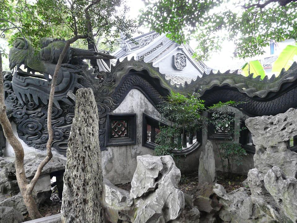 Asia, China, Shanghai, Yu Yuan Garden, Yu Yuan