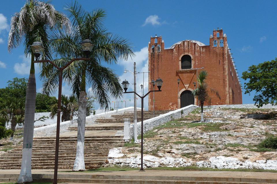 Mexico, Yucatan, Church