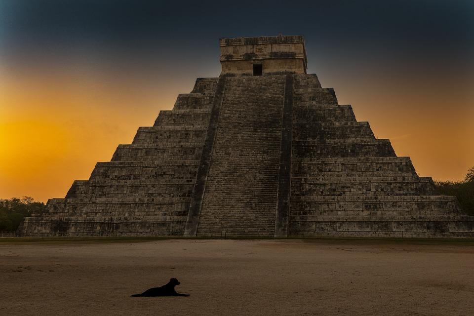 Mayan Temple, Chichen Itza, Mayan, Yucatan