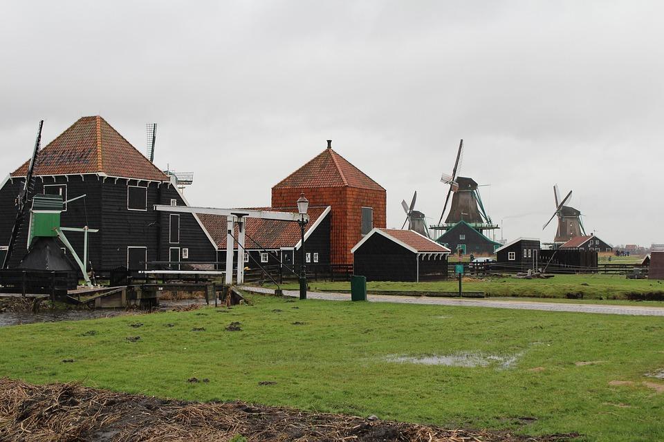 Mill, Unesco, Zaanse Schans, Zaanstad, Netherlands
