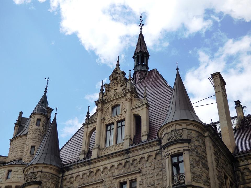 Pzamek, The Palace, Zameczek, Mansion, Monument