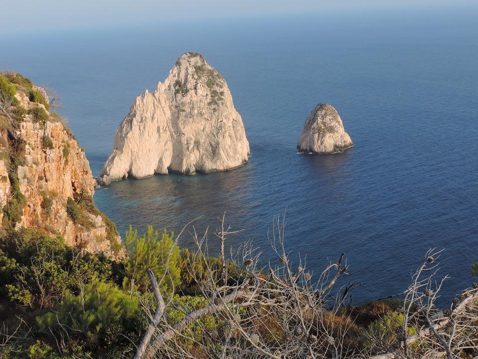 Sea, Zante, Landscape