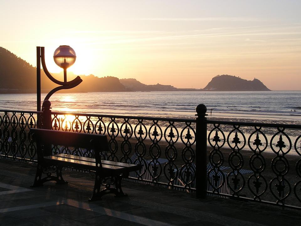 Zarautz, Beach, Sun