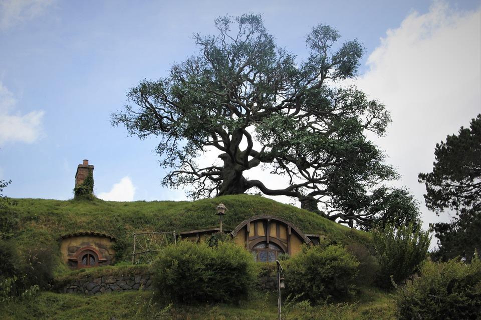 Hobbit, Hobbiton, Nz, New, Zealand, Matamata, Auckland