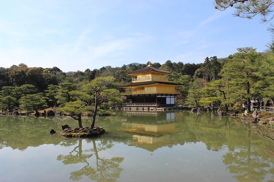 Temple, Japan, Zen, Kinkakuji Temple, Japanese Garden