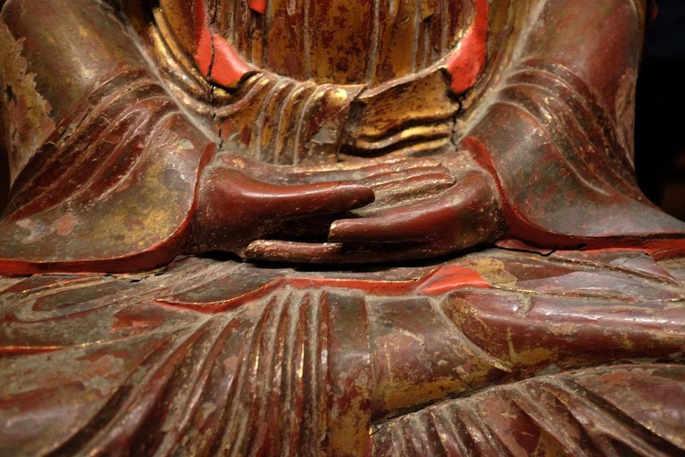 Seated Buddha, Zen, Meditation, Serenity, Wisdom