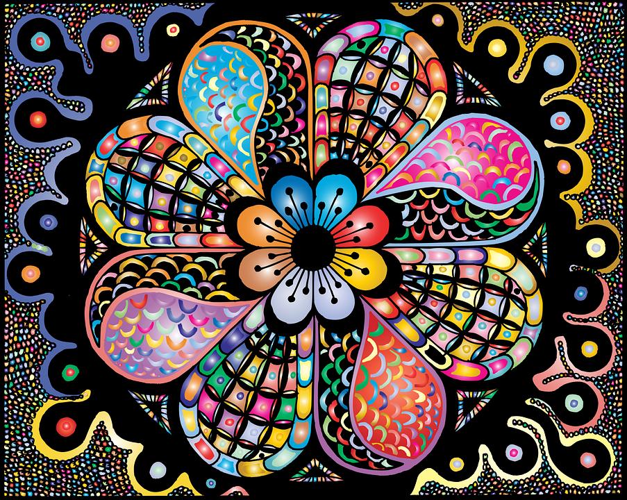 Mandala, Zentangle, Doodle, Decor, Decorative