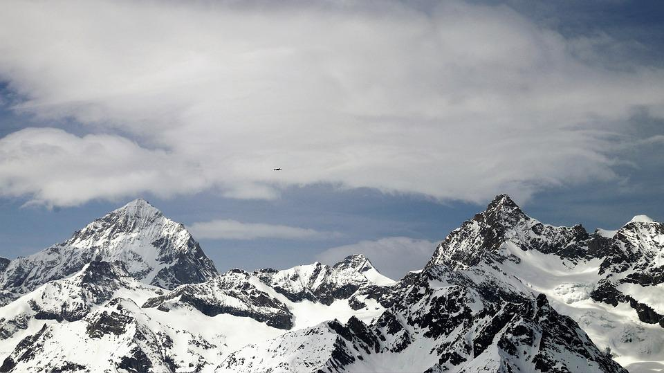 Zermatt, The Alps, Switzerland, Tops, High, Snow