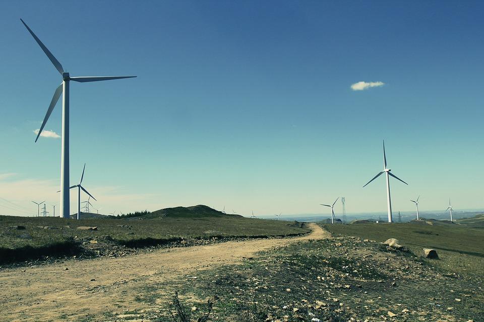 Zhangbei, Grasslands Road, Windmill