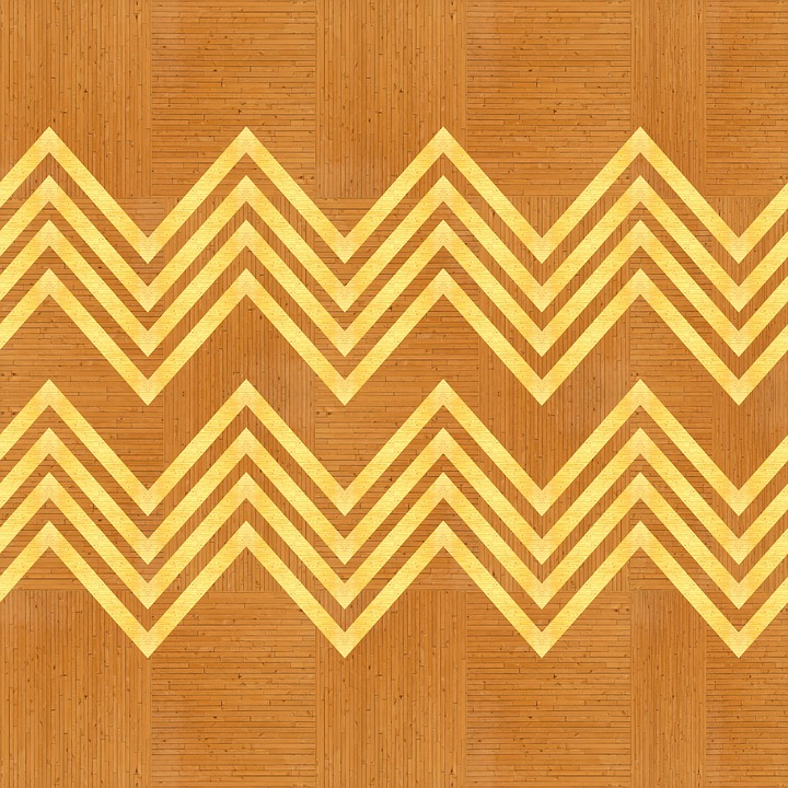 Texture, Wood, Zigzag, Geometric, Design, Inlay