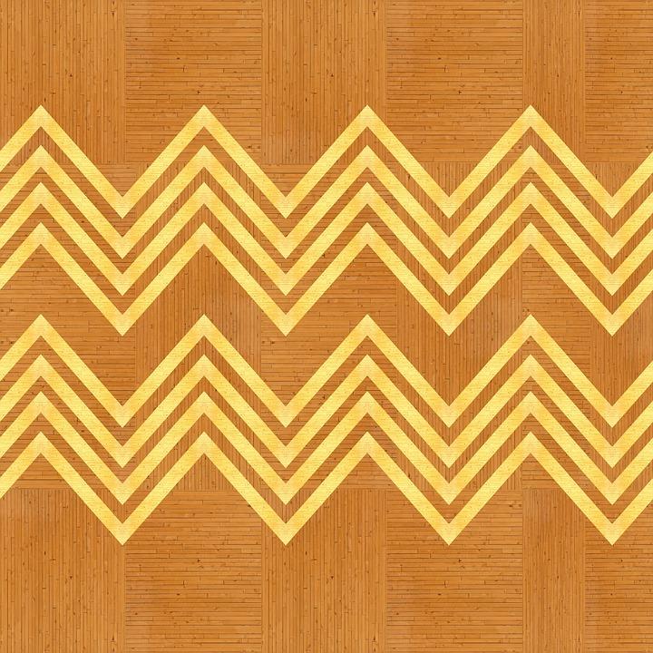 Texture, Wood, Zigzag, Geometric, Design, Inlay