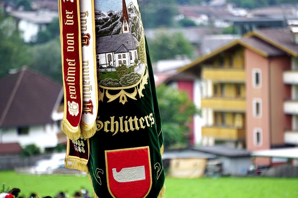 Schützenfest, Austria, Schlitters, Tyrol, Zillertal