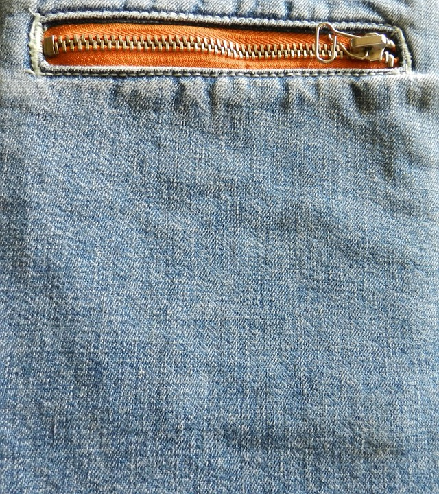 Denim, Jeans, Fabric, Zipper, Blue, Clothing, Texture
