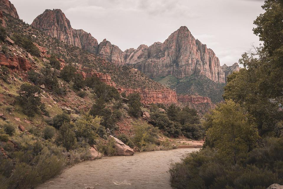 Zoin, Zion Nationalpark, Usa, Nationalpark, Utah