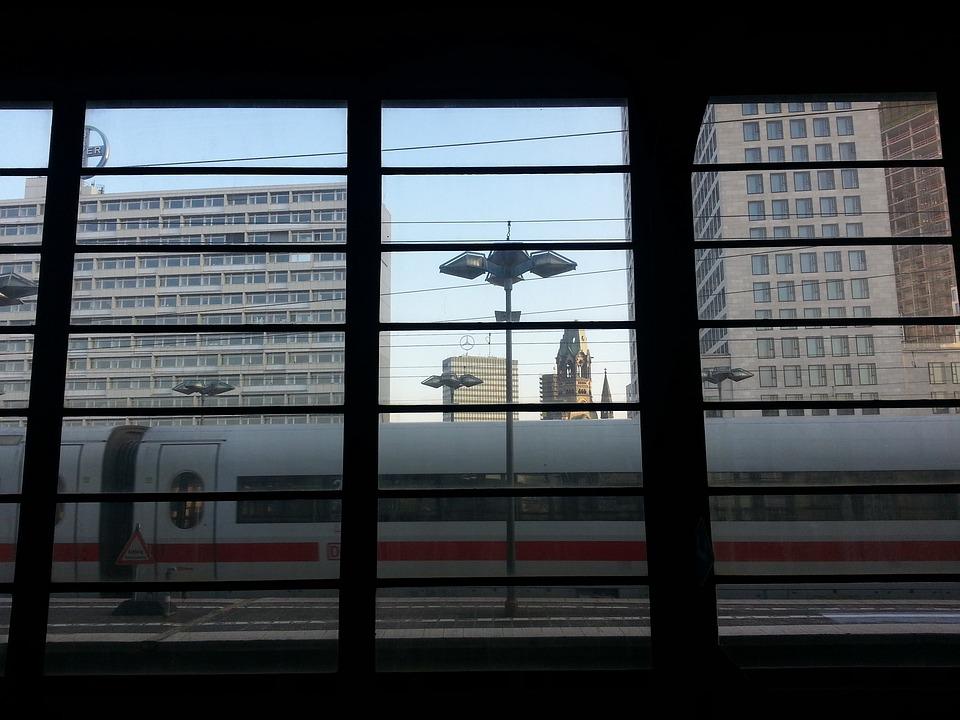 Zoological Garden Train Station, Train, Berlin