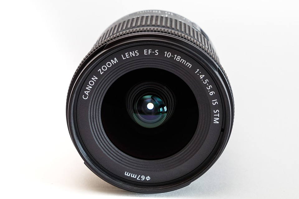 Lens, Canon, Zoom Lens Ef-s 10-18mm, Optics, Zoom