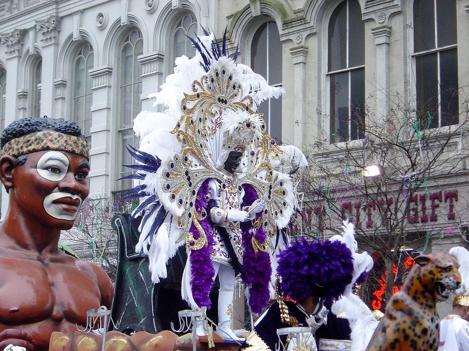 Mardi Gras, Zulu, King, New Orleans, Carnival, Festive
