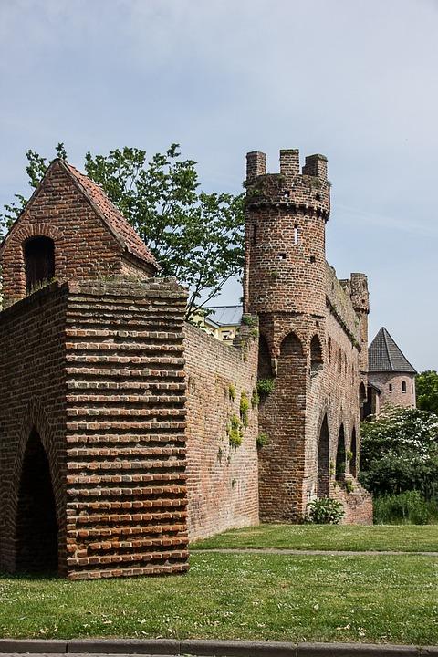 City Wall, Landscape, Zutphen, Netherlands