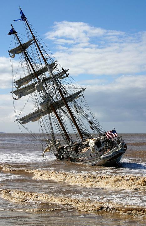 Ship, Sailing Vessel, Irving Johnson, Sail, Zweimaster