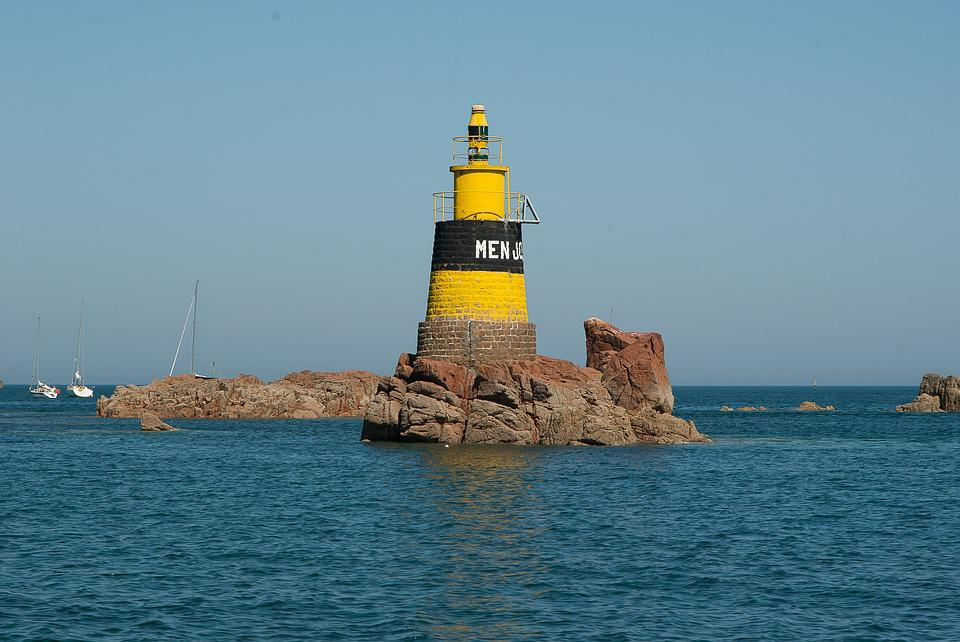 Brittany, île-de-bréhat, Beacon, Navigation, Lighthouse