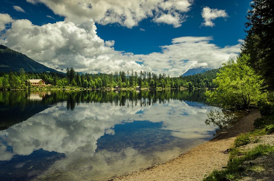 Lake, Landscape, ödensee
