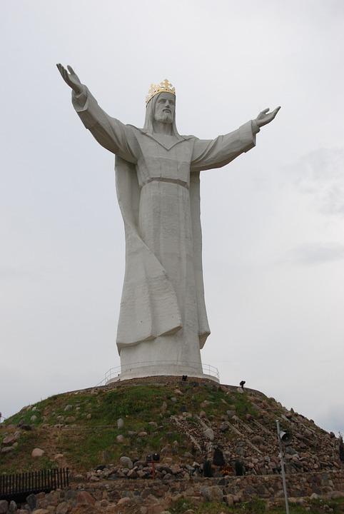 Poland, świebodzin, Statue, Image, Christ, Religion