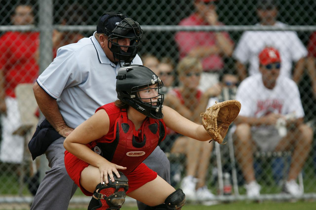 Softball player images