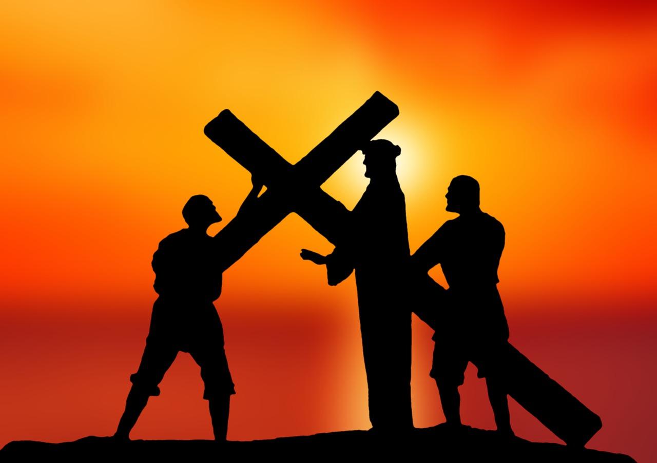 Crucifixion depiction