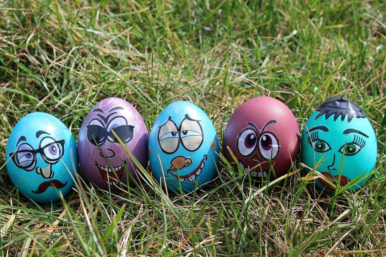 Любые случаи, прикольные картинки про яйца и пасху