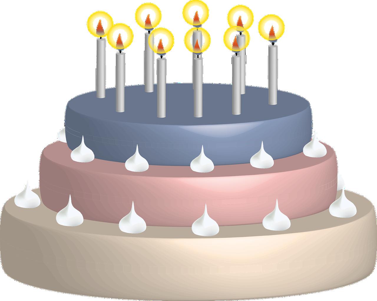 Новорожденным внучкой, торт со свечами картинки для детей