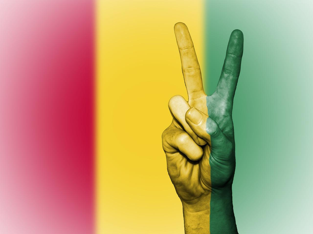 Amazing peace hand vector photos