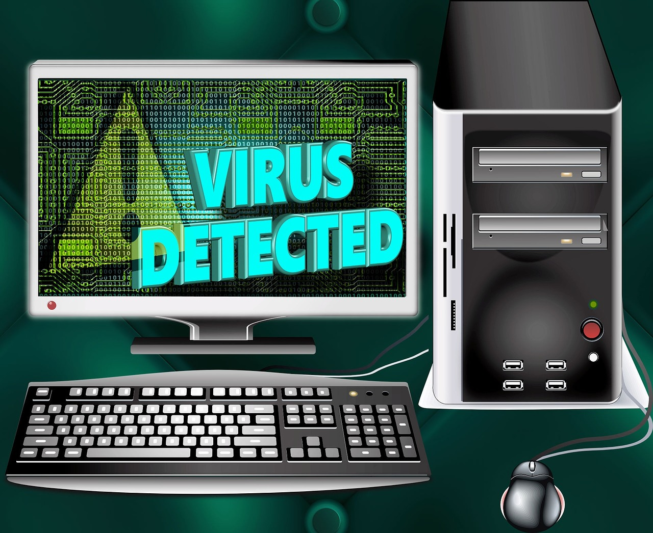 the real computer virus How to create a virus have you ever wished you could create your own virus am i myself vulnerable if i am creating a virus on my computer.