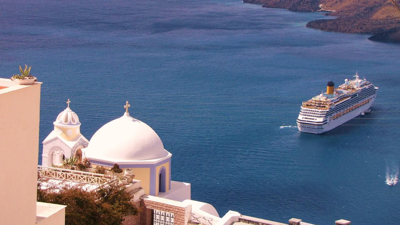 Greek Island Cruise--Santorini