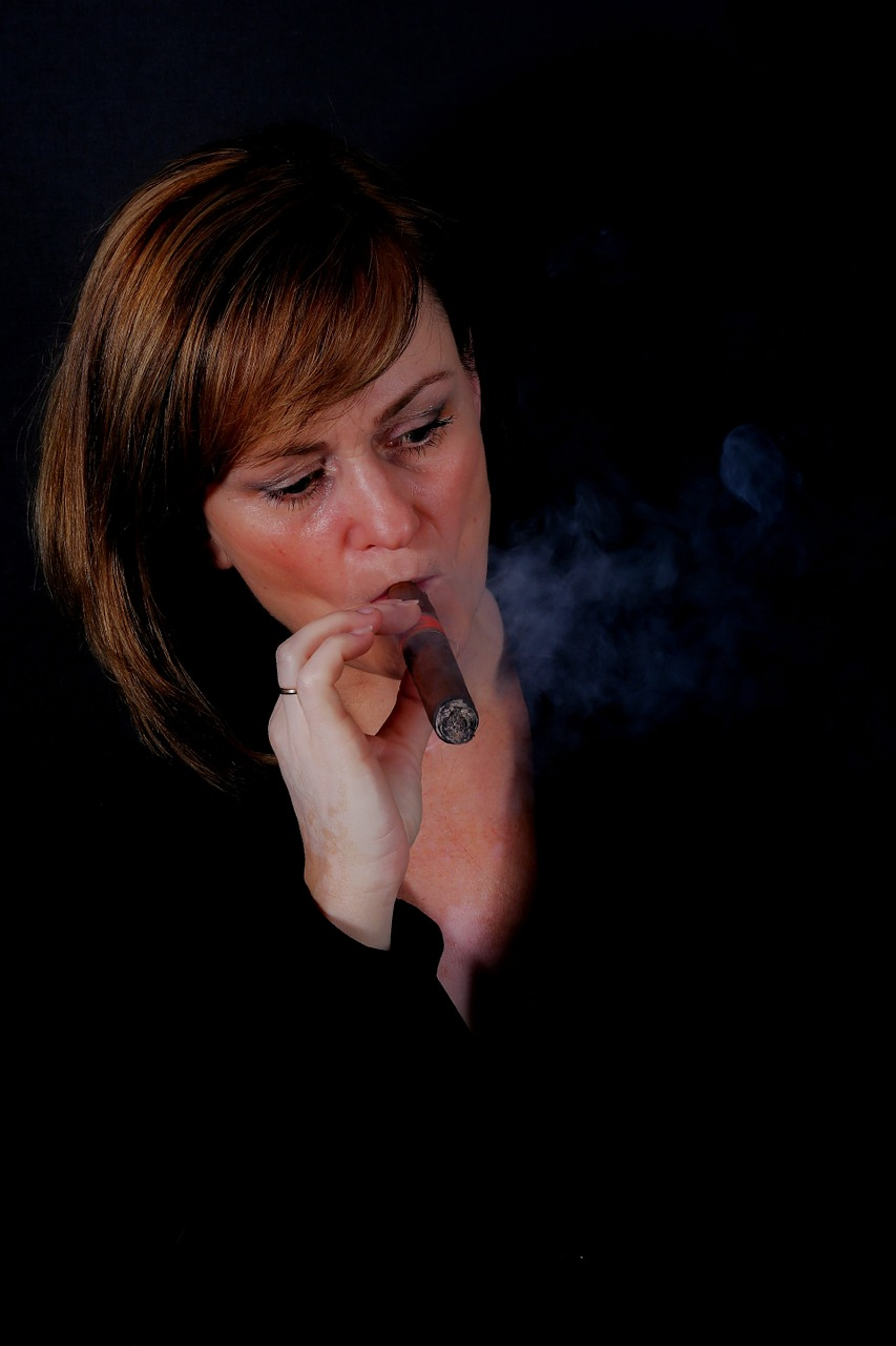 https://www.maxpixel.net/static/photo/2x/Woman-Lowkey-Portrait-Smoke-Cigar-Dark-Studio-1273278.jpg