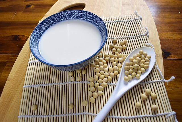 Soy, Soybean, Soy Milk, 黄豆, 豆浆