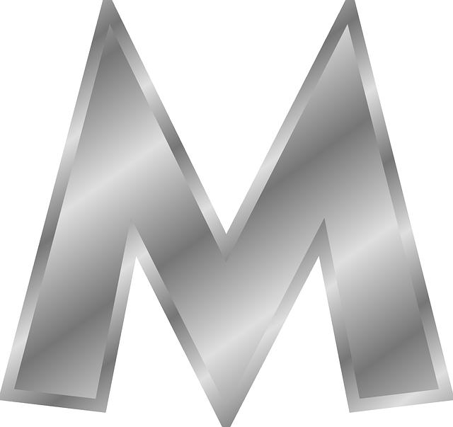 Alphabets, M, Letters, English, Languages, 13