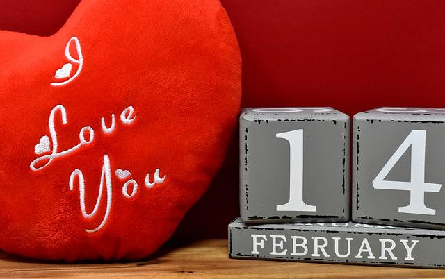 Valentine's Day, 14, February, Love, Greeting Card