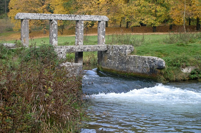 Water Dam, Monuments, Altmühl Valley, Granite Stone, 17