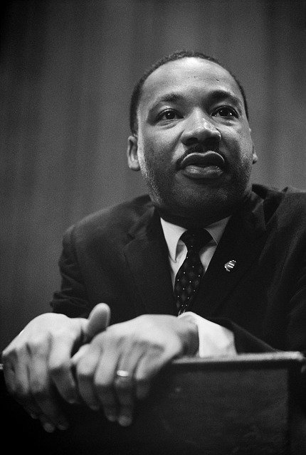 Martin Luther King, Press Conference, Black, 1964, Man