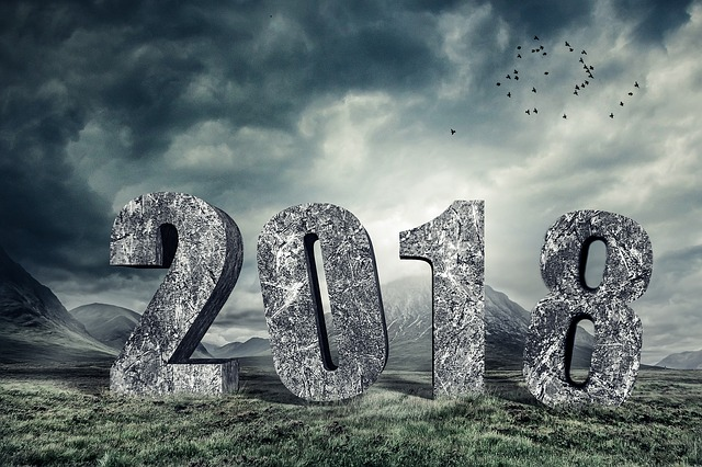New Year, 2018, New Year's Day